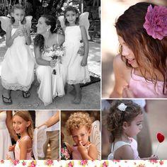 Girls Dresses, Flower Girl Dresses, Crown, Wedding Dresses, Flowers, Fashion, Dresses Of Girls, Bride Dresses, Moda