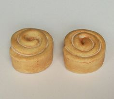 Cinnamon Rolls Breakfast Snack Treat Set of 2 - Perfect for 18 Inch American Girl® Dolls