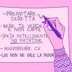 I buoni propositi ci sono tutti • • • • #freeda #freedamedia #girls #girl #inspo #girlyinspo #inspiring #inspogirl #inspire #girlpower #girlssupportgirls #power #inspiration #inspiringwomen #feminism #womanpower #style #pink #todolist #cosedafare #propositi