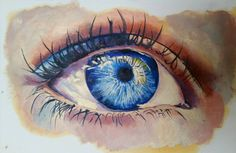 Blue eye #oilpainting   Check out this item in my Etsy shop https://www.etsy.com/listing/223741318/blue-eye-oil-painting-free-shipping