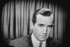 Sixty years ago, Edward R. Murrow performed one of the most famous acts of journalistic evisceration in American television history. Edward R Murrow, Insurgent, Global News, Us History, Joseph, Politics, American, People, Gain