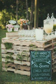 Resultado de imagem para decoração casamento barata criativa