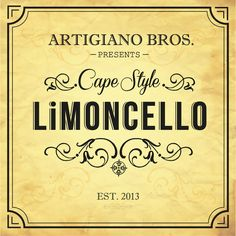 @ArtigianoBros creating classic Limoncello, with inspiration from the cape #LoveLifeandLemons | Artisan