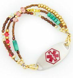 Morocco Medical ID Bracelet