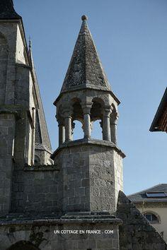 Détail de la collégiale du Dorat - Le Dorat's church detail