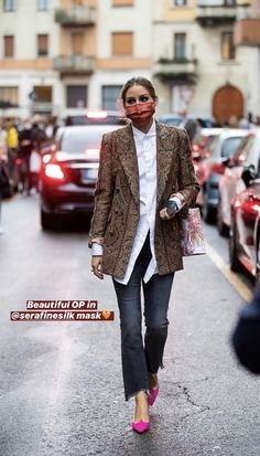 Style Olivia Palermo, Olivia Palermo Lookbook, Street Looks, Street Style, Love Her Style, Style Me, Fashion Week, Street Fashion, Casual Outfits