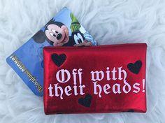 Queen Of Hearts Alice Passholder Wallet