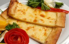 Kaşarlı Pide | What is it: Fresh baked pita bread with melted cheese.