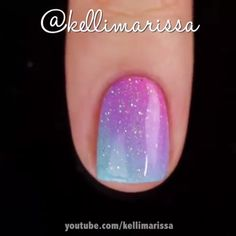 Nails Beautiful and unique stamp nail art By: kellimarissa Doormats For Your Home When you want a qu Nail Art Hacks, Nail Art Diy, Easy Nail Art, Diy Nails, Cute Nails, Simple Nail Art Videos, Nail Art Designs Videos, Unicorn Nails Designs, Nail Art For Kids