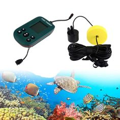 (58.96$)  Watch now - http://aiwue.worlditems.win/all/product.php?id=32803187430 - 100M Portable Fishing Fish Finder Sonar Sensor Depth Sounder Alarm Transducer Designed For Amateur And Professional Fishermen