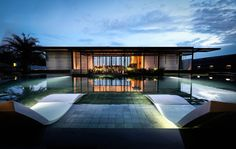 Completed in 2016 in Johor Bahru, Malaysia. Images by Virginia Cucchi. The project develops on about 0,86 acres and is located in the North-East of Johor Bahru, Malaysia, inside a high-end gated area, just next to a...