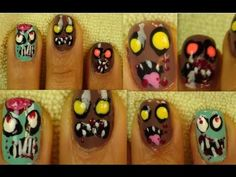 Stayed up late one night doing my zombie nails. I filmed it thinking you might want to see how I did it.     Like? Yes? :)     Here is a still photo of the nails  http://irisonyoutube.blogspot.com/2012/10/zombie-nail-design.html        Vintage Pin Up Playlist  https://www.youtube.com/playlist?list=PL86A28FC631033098=plcp    Candy skull look   https:/...