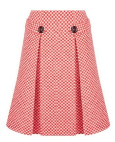 5720629901522 Eponine London Red Gingham Skirt Classic Skirts, Blouse And Skirt, Skirt  Suit, Pleated
