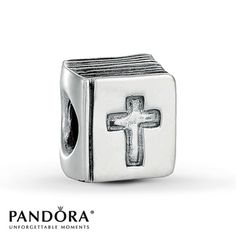 A bracelet too - The Pandora Bible Charm is one of our best selling charms and makes the perfect gift!