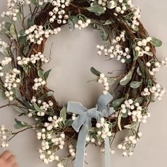 31 Brilliant Spring Door Wreaths Design Ideas - When most of us think of front door wreaths we think circle, evergreen and Christmas. Wreaths come in all types of materials and shapes. Diy Spring Wreath, Spring Door Wreaths, Easter Wreaths, Holiday Wreaths, Rag Wreaths, Dried Flower Wreaths, Lavender Wreath, Ribbon Wreaths, Tulle Wreath