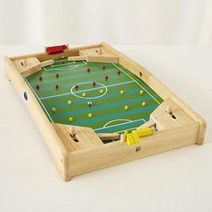 Kids Games: Wooden Soccer Pinball Game