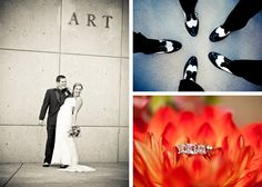 IU Art Museum wedding! Photos by Ashley Athey Photography