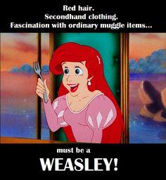 Ariel....Weasley?