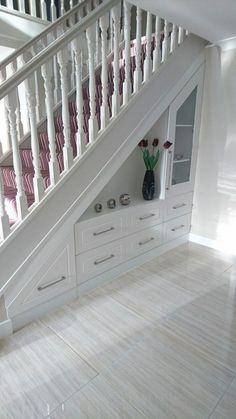 85 under the stairs utilization ideas