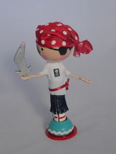 Clothespin Doll Pirate!