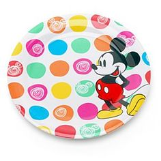 Mickey Mouse Picnic Dinner Plate