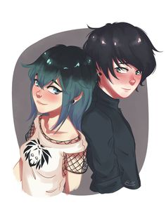 Genderbend Marinette and Luka Miraculous Ladybug Chat Noir, Miraculous Ladybug Wallpaper, Miraculous Ladybug Fan Art, Meraculous Ladybug, Ladybug Comics, Lady Bug, Cat Noir, Cute Couples, Character Art