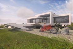 Progressives Architektenhaus für Individualisten - einzigartiger Entwurf von www.flow-architektur.de #Architektur #architecture