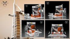 EFECTO ANCHOA, diseño a GAMESA, el stand promocional para su participación en la Feria MIDDLE EAST, Dubai 2014