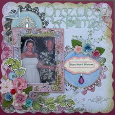 There Was a Princess **Scraps of Elegance**  August Kit - Scrapbook.com