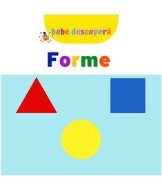 Forme. Bebe descopera Tech Logos, Chart, School, Shape