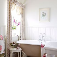 Bathroom | Victorian Yorkshire cottage | House tour | PHOTO GALLERY | country homes & interiors | Housetohome.co.uk