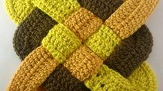 Make a Celtic Weaved Square Crochet Motif - DIY Crafts - Guidecentral