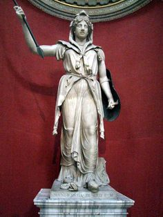 Ancient Roman statue of Juno from the Vatican Museum.
