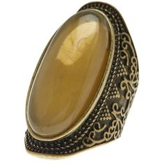 Free Press Oval Etched Shield Ring - Size 7 (£10) ❤ liked on Polyvore featuring jewelry, rings, gold, band jewelry, antique gold jewelry, oval ring, antique gold jewellery and antique gold rings
