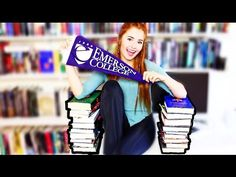 BOOKS I'M TAKING TO COLLEGE! - YouTube