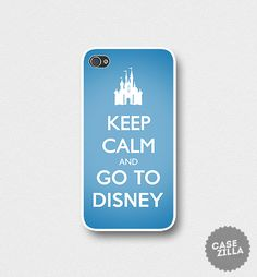iPhone 5 Case Keep Calm and Go To Disney iPhone 5S by CaseZilla, $12.99