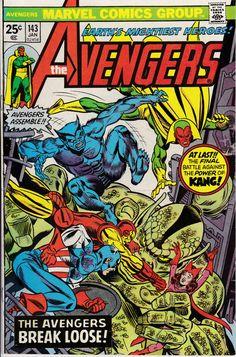 Avengers 143 January 1976 Issue  Marvel Comics  Grade Fine