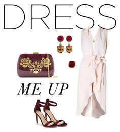 Dress me up and take me out... by vrbweb on Polyvore featuring polyvore, fashion, style, Saks Fifth Avenue, Serpui, Gucci, Anne Sisteron, Versace and clothing