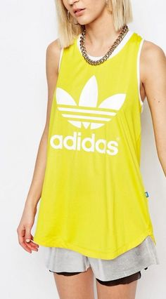 Brand New Adidas Originals Trefoil Kim Kardashian Vest - Size: UK 8, 10, 12 & 14 in Clothes, Shoes & Accessories, Women's Clothing, Activewear | eBay!