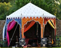Raj Tents For Sale – Looking for raj tents manufactures in India? Sangeeta International offers luxury raj tents at affordable rates. Marquee Wedding, Tent Wedding, Moroccan Tent, Arabian Theme, Arabian Nights Party, A Frame Tent, Desi Wedding Decor, Royal Indian, We Are Festival