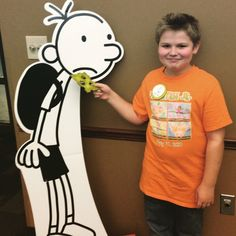 "Photos from our ""Wimpy Kid Book 9"" Release Party! #zooweemama #book9 #wimpykid 