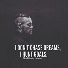 I visualize and I execute. Conor Mcgregor #Legend