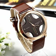 Popular Men's Round Cross Golden  Dial  Leather Band Quartz Analog Wrist Watch(Assorted Color). Get irresistible discounts up to 50% Off at Light in the Box using Coupons & Promo Codes.