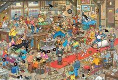 Jan van Haasteren: De Hondenshow (3000 stukjes)