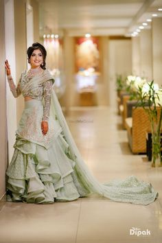 Indian bridal outfits - Photo From Brides 2018 By Dipak Studios Wedding Photography Indian Wedding Gowns, Indian Bridal Outfits, Indian Gowns Dresses, Indian Bridal Lehenga, Pakistani Bridal Wear, Indian Designer Outfits, Bridal Dresses, Lehenga Wedding, Engagement Dress For Bride