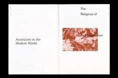 A set of books designed and edited based on two opposite sides of asceticism.