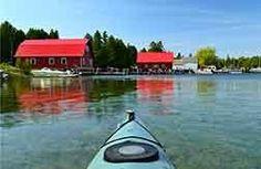 Livin' the Kayaker's Dream in Door County.| Jackson Harbor Wash Island