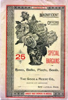The Good & Reese Co., front cover ~ 1894.  Free for personal or educational use only.