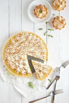 Lemon Meringue Shortbread Tartlets | The Kitchen McCabe