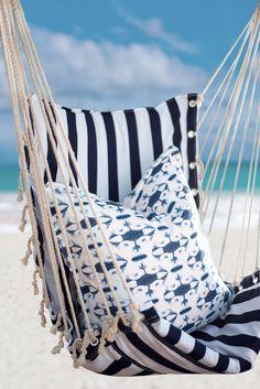 Cottonberry's Indigo Bay Collection Outdoor Furniture, Outdoor Decor, Hammock, Indigo, Island, Collection, Home Decor, Style, Swag